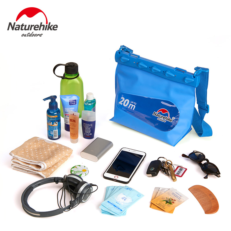 Naturehike Swimming Waterproof Bag Storage Bag Sealed Outdoor Beach Swimming Drifting Diving Equipment NH17F001-M