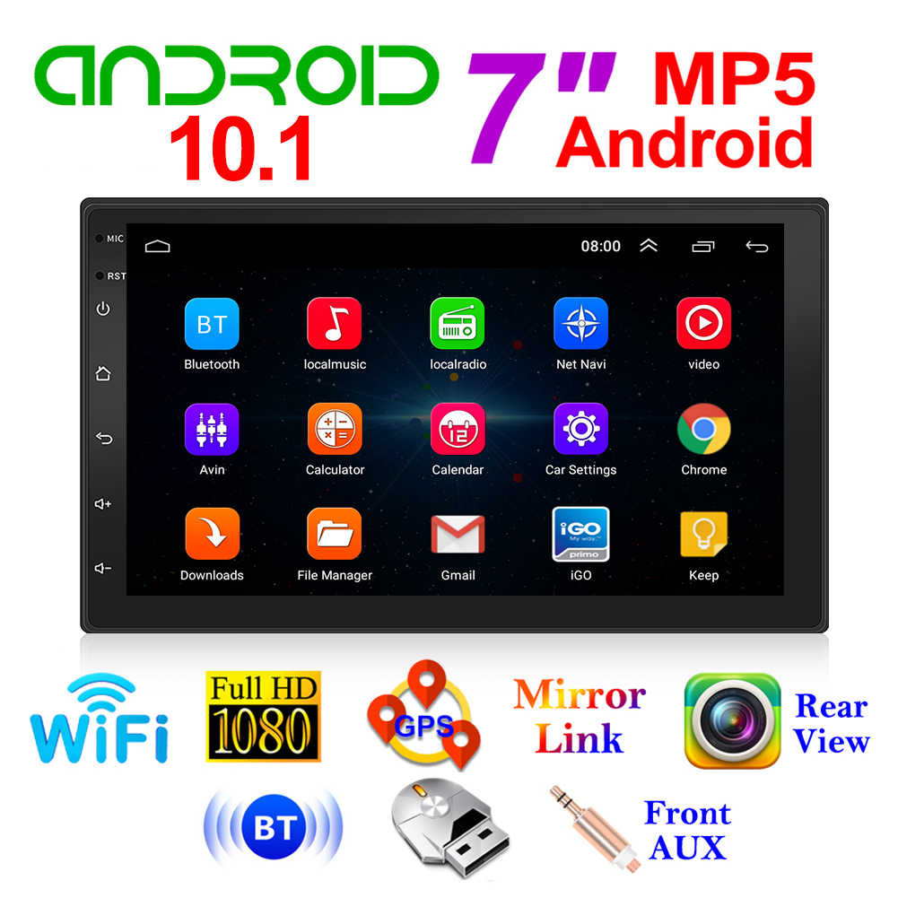 10.1 Auto Radio 9210S Android 2 Din Wifi Gps Head Unit Multimedia Video Player Voor Outdoor Persoonlijke Auto Decoratie