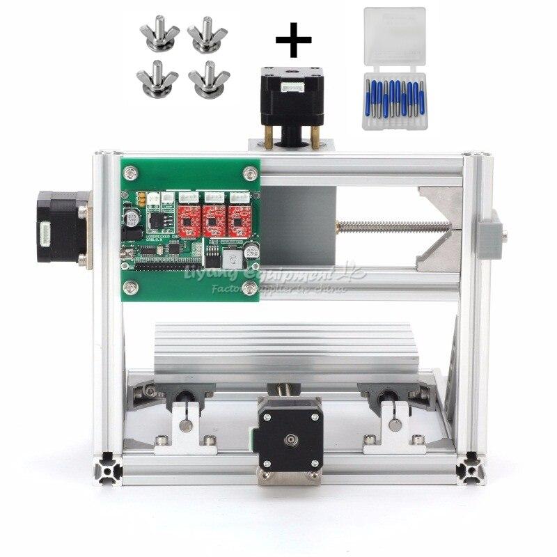 GRBL контроль cnc 1610 гравировка 2500 мвт лазерная машина pcb резьба по дереву машина