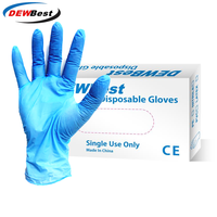 Nitrile Gloves 50pcs/lot Food Grade Waterproof Allergy Free Disposable Work Safety Gloves Nitrile Gloves Mechanic