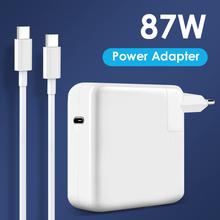NORTHJO 87W USB C PD ładowarka do laptopa zasilacz z kablem ładującym typu C dla MacBook Pro Air 13 15 16 cal US UK ue wtyczka tanie tanio CN (pochodzenie) 20 2V 4 3A