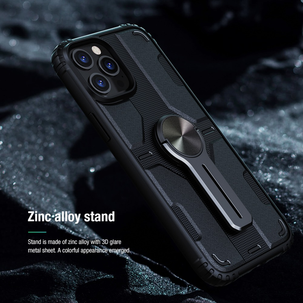 Removable Backrest Alloy Stand Case For iPhone 12 Pro Max 7