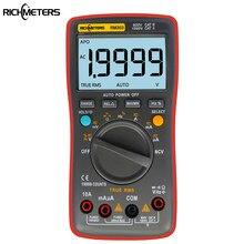 Rm303 true-rms 19999 contagens multímetro digital ncv frequência 200m resistência