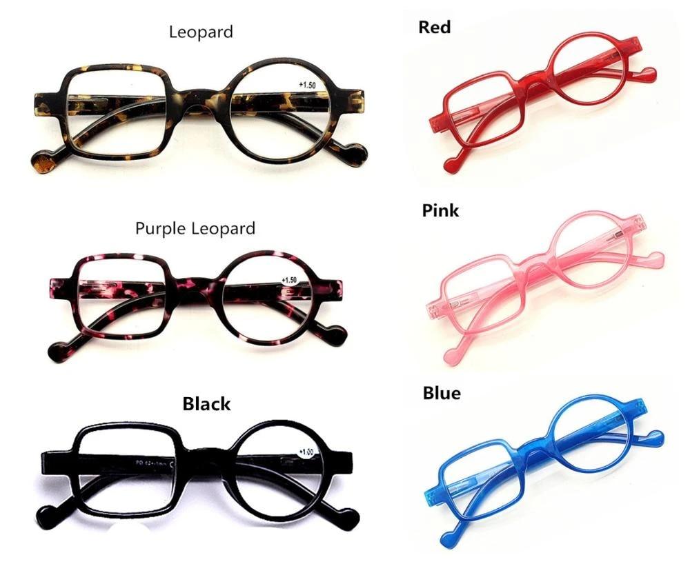 Leopard Asymmetric Cute Men Women Reading Glasses Resin Lenses Hyperopia  Frame Eyewear Diopter 2020020200200 +2020020200200.2020020200200+2020020200200.202020020200200+20200.2020020200200+20200.20~+20.20