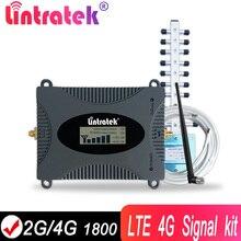 Lintratek מגבר נייד 4G מלא ערכת LTE 1800 מהדר נייד אות מאיץ DCS להקה 3 2G 1800Mhz GSM לאינטרנט רשת