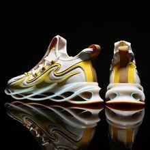 Отражающее Лезвие воин мужские кроссовки амортизационные мягкие беговые кроссовки для мужчин дышащие спортивные кроссовки для бега