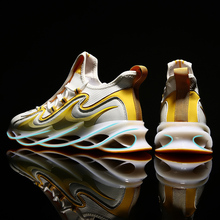 Reflective Blade Warrior Men Sneakers Shock Absorption Cushioning Running Shoes