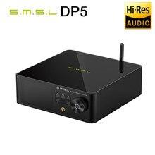 Smsl dp5 reprodutor de música de rede de alta fidelidade es9038pro reprodução de vapor mqa decodificação completa dsd256 mqa dlna samba smart wifi player