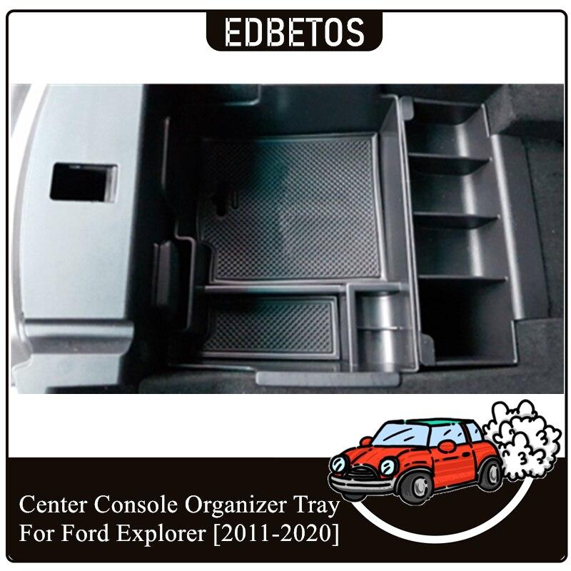 Center Conosle Organizer Tray Explorer 2011-2020 Organizer Explorer Storage Plastic Box For Ford Explorer Armrest Storage Box