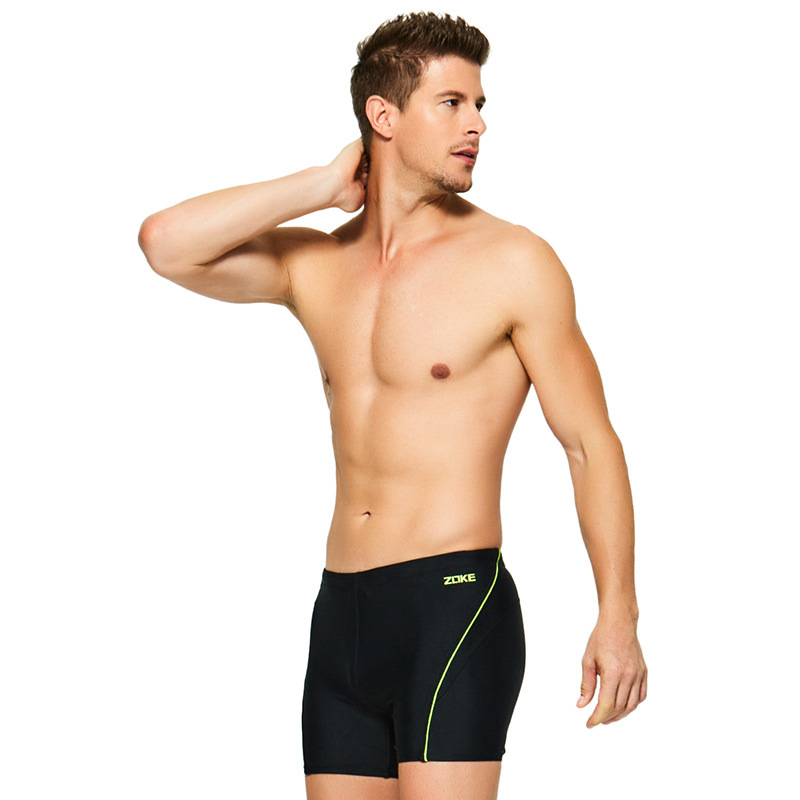 Is Men New Style Pants Fashion Large Size Is Breathable Boxer Chinlon Urethane Elastic Fibre Quick-Dry Hot Springs Tour Is