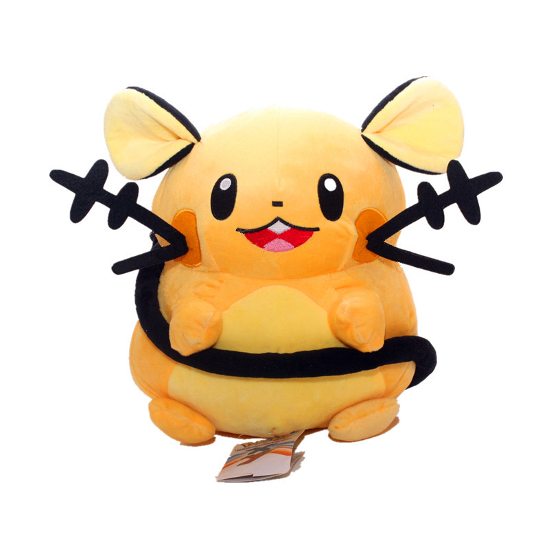 "2020 Free Shipping Hot Sale 7"" 20/30cm Pikachu Doll Dedenne Plush Stuffed Animals Toys For Child Best Gifts 1"