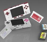 DIGIRETRO Boy-consola de juegos portátil para juegos Retro, Compatible con tarjetas GBA oficiales