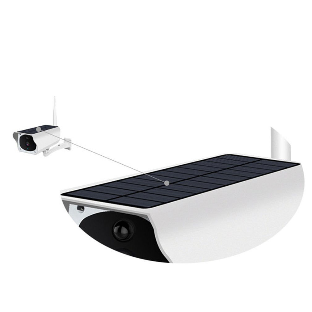 Solaire 1080P Hd Cctv Surveillance Ip caméra Wifi sans fil extérieur Ip67 étanche alimenté nuage Ir P2P caméra extérieure