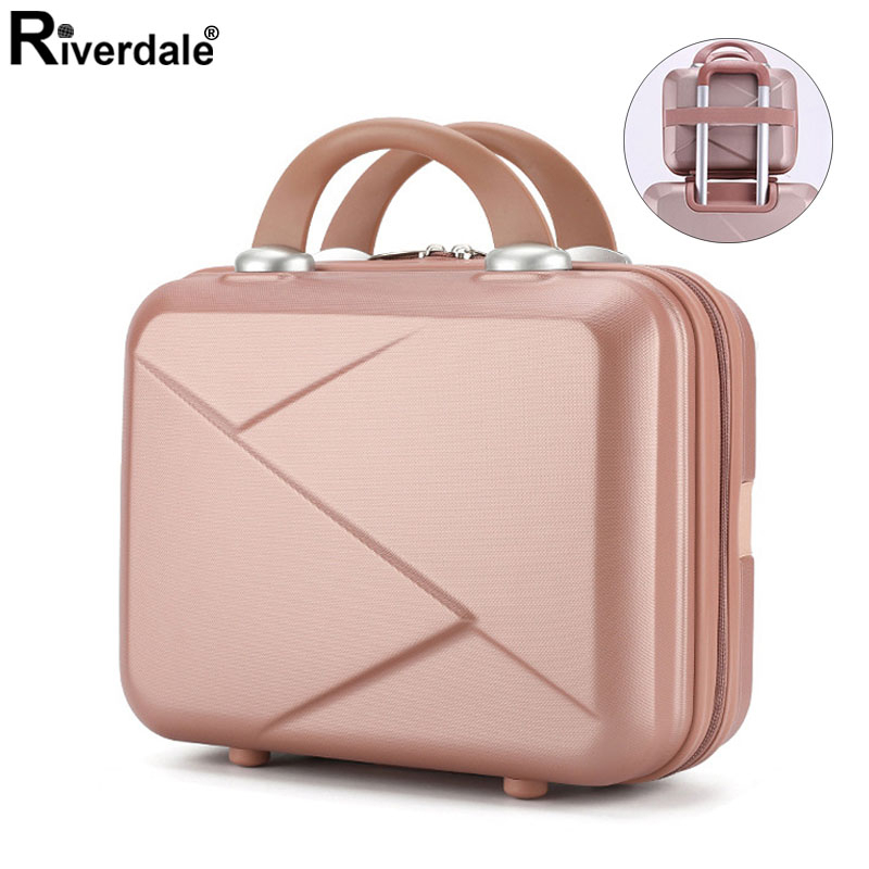 Collocation Luggage Make Up Organizer Waterproof Travel Makeup Case Female New Necessary Cosmetic Case Women Makeup Suitcase