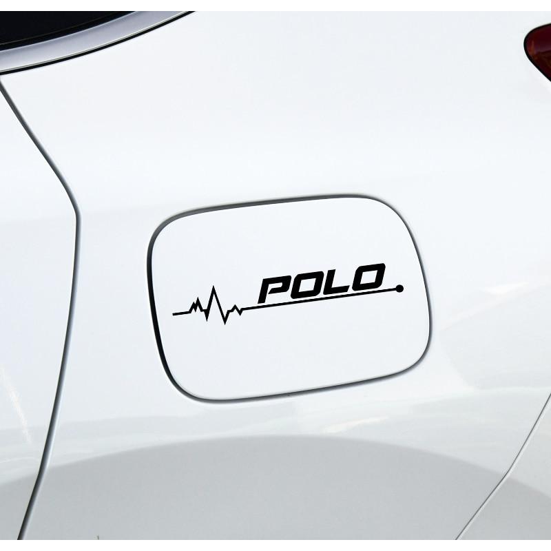 1 шт. автомобиля-Стайлинг Светоотражающая наклейка на крышку топливного бака и наклейка Аксессуары для Volkswagen VW POLO CARAVELLE CRAFTER аксессуары