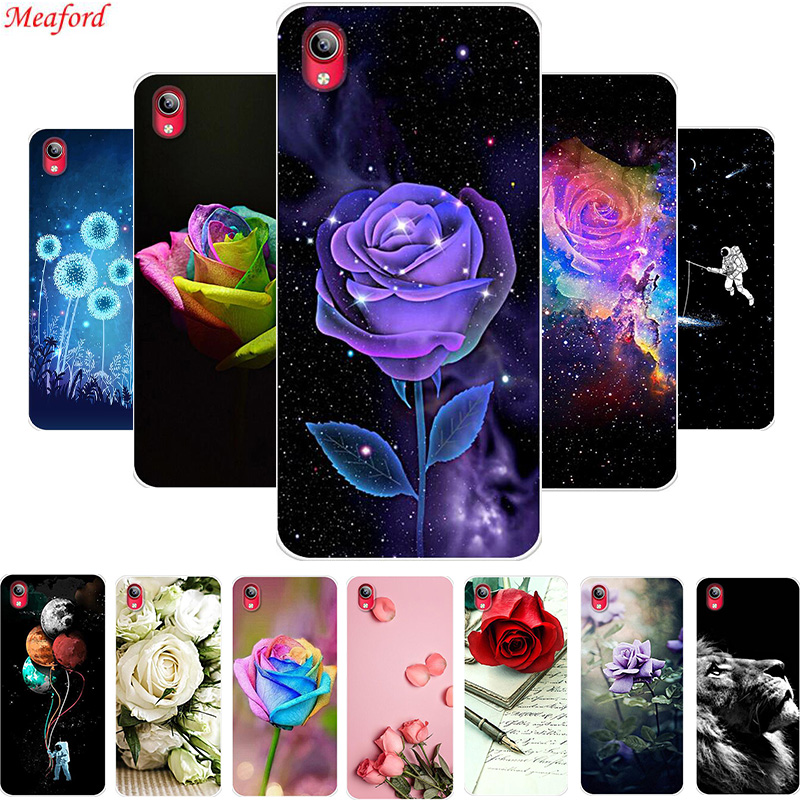 Hot Case For VIVO Y91C Case Back Cover Soft TPU Phone Case For VIVO Y91i Silicone Case Y91 C Y91i Coque For Vivo Y95 Y91 Cover(China)