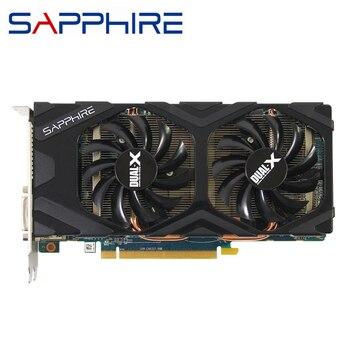 Видеокарты SAPPHIRE HD 7850 2 Гб, графический процессор AMD Radeon HD7850 2 Гб, графические карты 256 бит, настольный ПК, компьютер, игровая карта, видеокарта HDMI