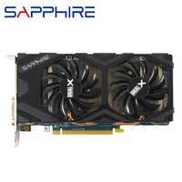 SAPPHIRE HD 7850 2GB Schede Video GPU AMD Radeon HD7850 2GB Schede Grafiche 256Bit Desktop di Gioco Per Computer PC mappa HDMI Scheda Video
