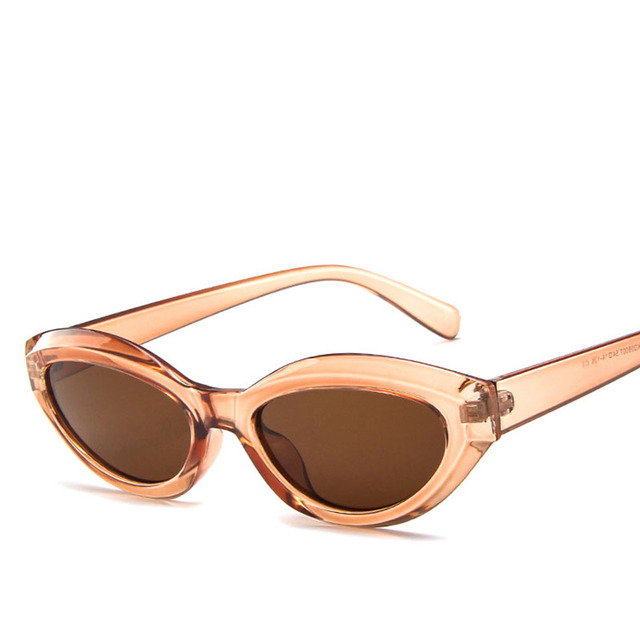 2019 nowe owalne modne okulary przeciwsłoneczne Trend Retro osobowość okulary damskie markowe designerskie okulary przeciwsłoneczne UV400