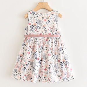 Image 2 - LOVE DD&MM Girls Dresses 2020 New Sweet Yellow Butterfly Print Princess Kids Dresses For Girls Clothing Costume