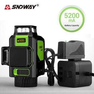 SNDWAY Laser Level 3D 360 Degree Rotatin