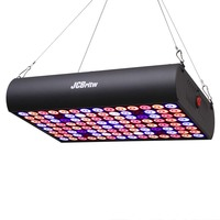JCBritw 600W LED Grow Light Full Spectrum IR with Daisy Chain Grow Lamp Panel for Indoor Plants Seedlings, Veg and Bloom