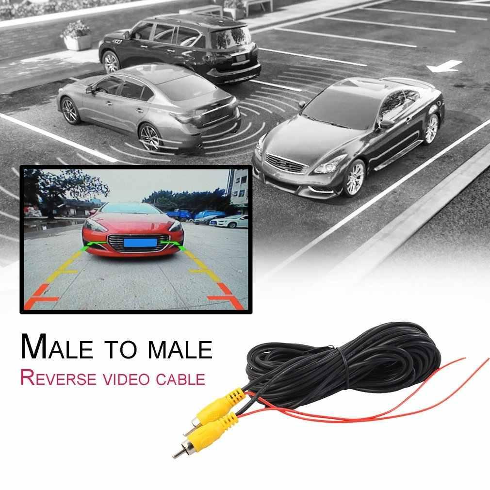 RCA vers RCA mâle vers mâle câble Audio AUX haut-parleur HiFi câble vidéo AV cordon pour caméra de recul de voiture lecteur DVD CD boîtier TV