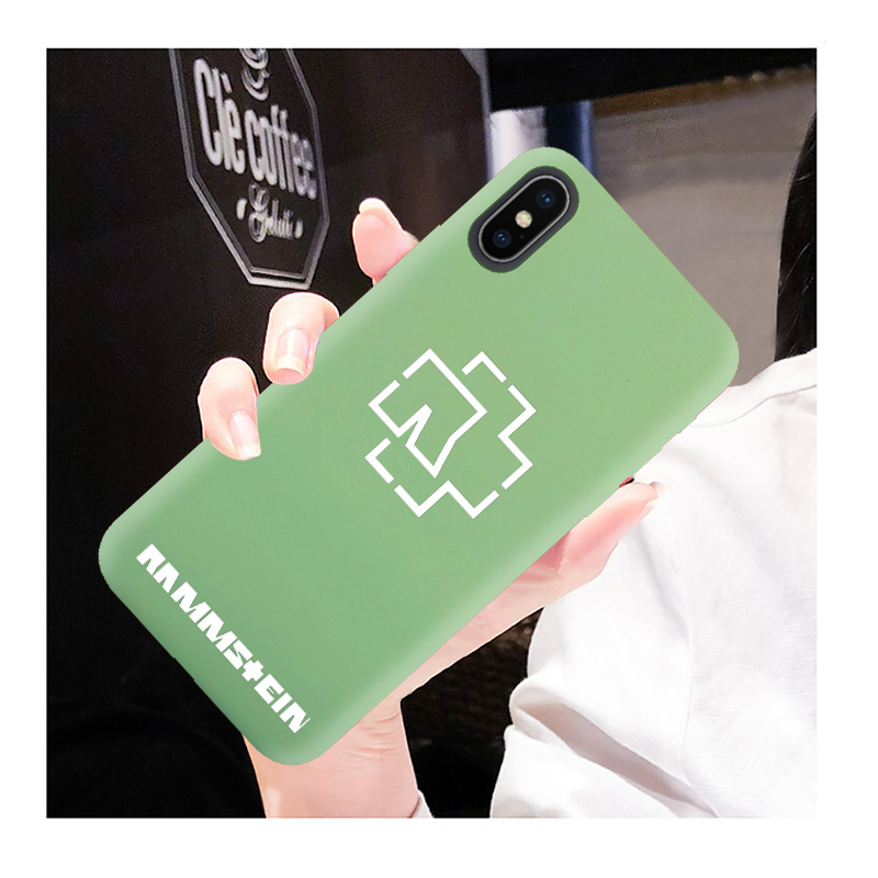 coque iphone 8 rammstein