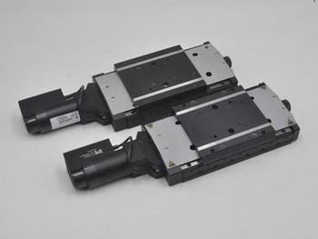 PI M-405K025 electric Y axis optical fine adjustment displacement platform table top 106 * 115mm aluminum alloy