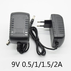 AC 100-240V DC 9V 0.5A 1A 1.5A 2A Electric Guitar Stompbox Power Supply Adapter charger Volt For Guitar Parts Effect Pedal Board