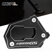 LOGO R1250GS Voor BMW R1250GS R1250 GS R1250GS R 1250GS HP 2018 Motorcycle CNC Side Stand Vergroten Extension Kickstand Accessoires