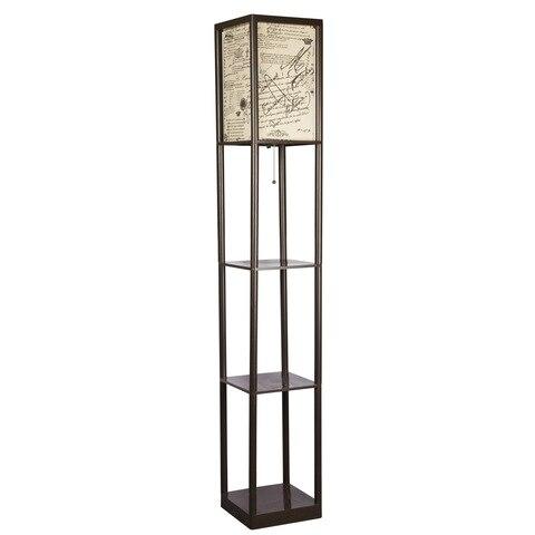 quadro de plastico de altura luz organizador prateleiras de exibicao de armazenamento moderna lampada de