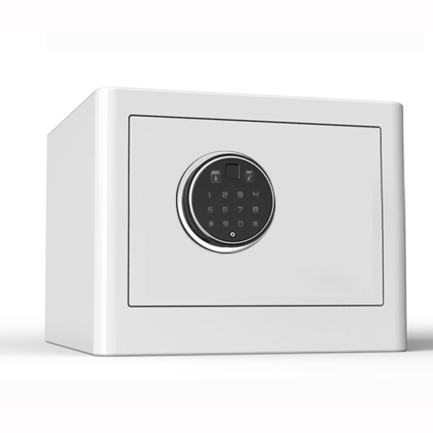BGX-M/D-25-AG Household Safe Small Anti-theft Fingerprint With Lock Password Office Hotel Strongbox Jewelry Security 25CM