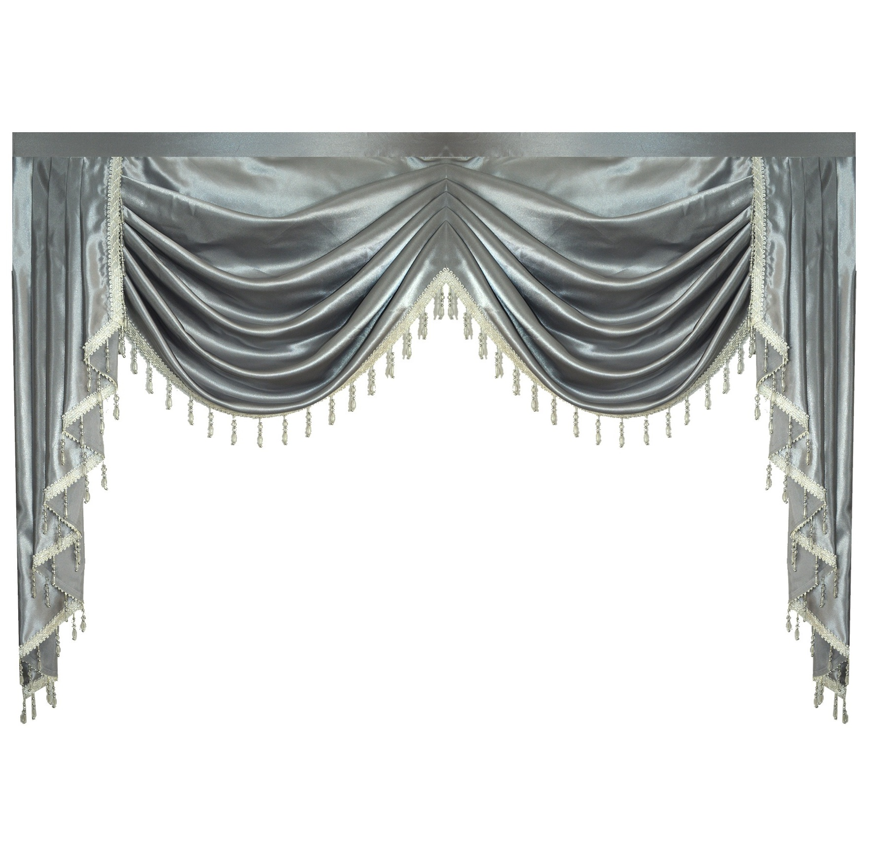 check MRP of swag curtains for living room