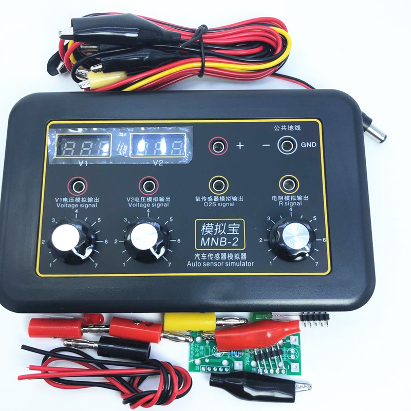 Automobile Vehicle Signal Generator Voltmeter MNB-2 Car ECU Tester Auto Sensor Signal Simulator Repair Tool