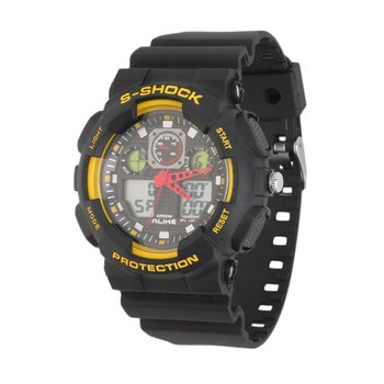 цена на Rubber Strap Digital Watch Quartz Analog Watch Wristwatch with Yellow, White, Blue, Red, Orange color Hot Selling sports Watch