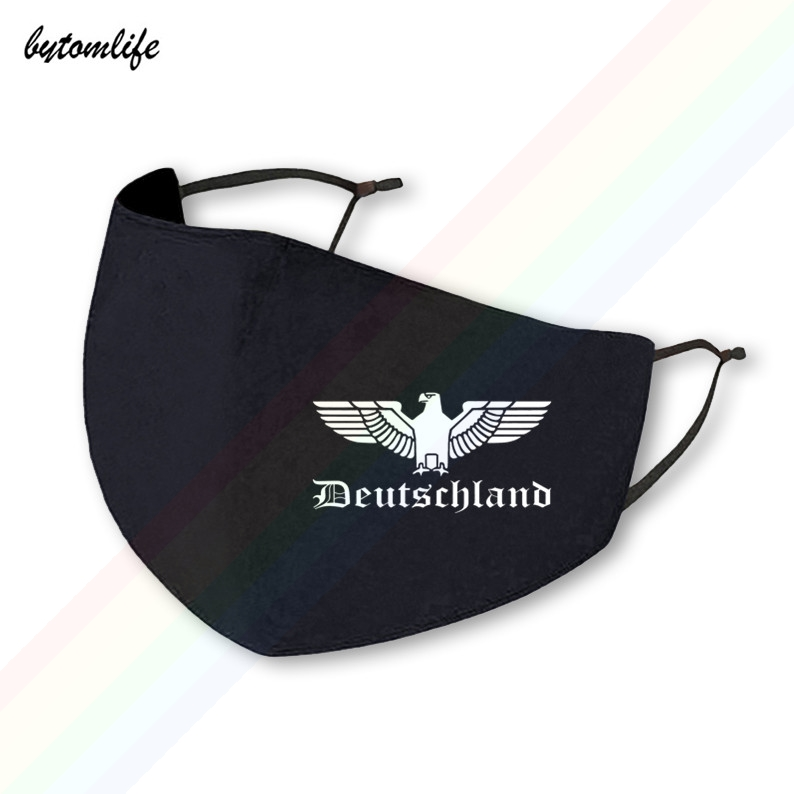 Германия германский орел печать, стирающаяся дышащая многоразовые Водонепроницаемый-и пыленепроницаемости: хлопковая маска для губ