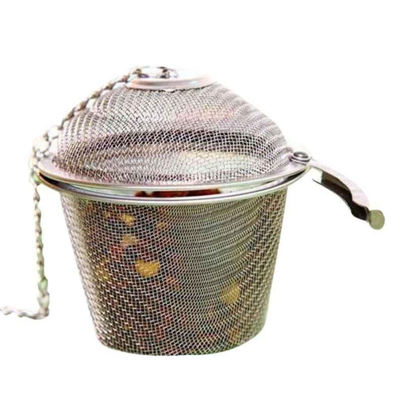 Stainless Steel Soup Rasa Bumbu Kotak Keranjang Air Garam Hot Pot Terak Pemisahan Saringan Saringan Alat Memasak