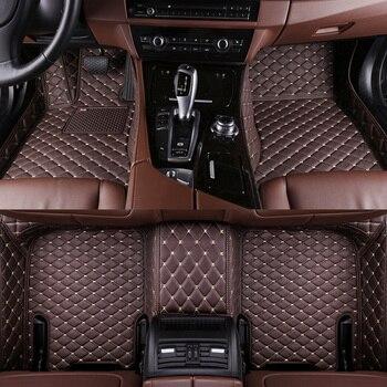 Alfombrillas de coche para Tesla Model S Model X Fit Alfa Romeo Stelvio Giulia alfombra impermeable