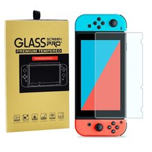 Premium Tempered Glass For Nintendo Switch SwitchLite Switch Lite NS NX Screen Protector 9H Game Console Protective Film Guard cheap OCDAY CN(Origin) 100 Brand new 9H Front Film Anti Shock Shatter fingerprint Round Border Rounded Edge Guard High Quality 0 26mm 0 3mm HD Clear Glossy