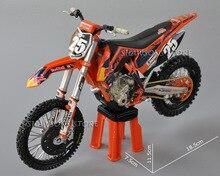 Diecast דגם צעצועי Automaxx 1:12 KTM 250 SX F לא. 38 25 לכלוך אופני מיניאטורי אופנוע Replica