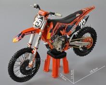 Diecast Model Toys Automaxx 1:12 KTM 250 SX F No. 38 25 Dirt Bike Miniature Motorcycle Replica