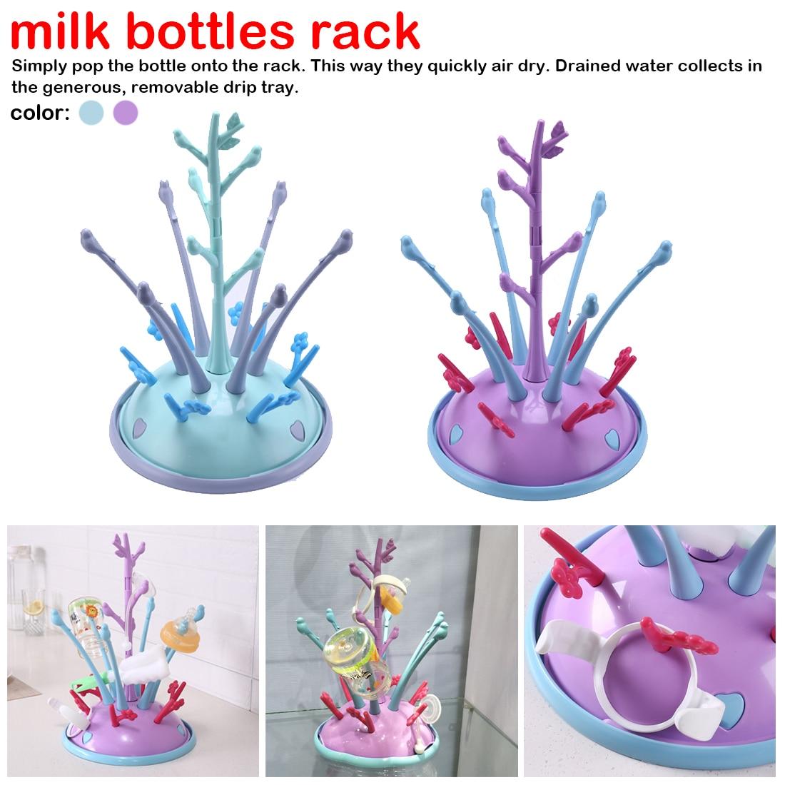 Bottles Drainer Bottle Holder For Feeding Drying Cup Rack For Babies Bottle Drying Rack Portable Drying Rack For Baby