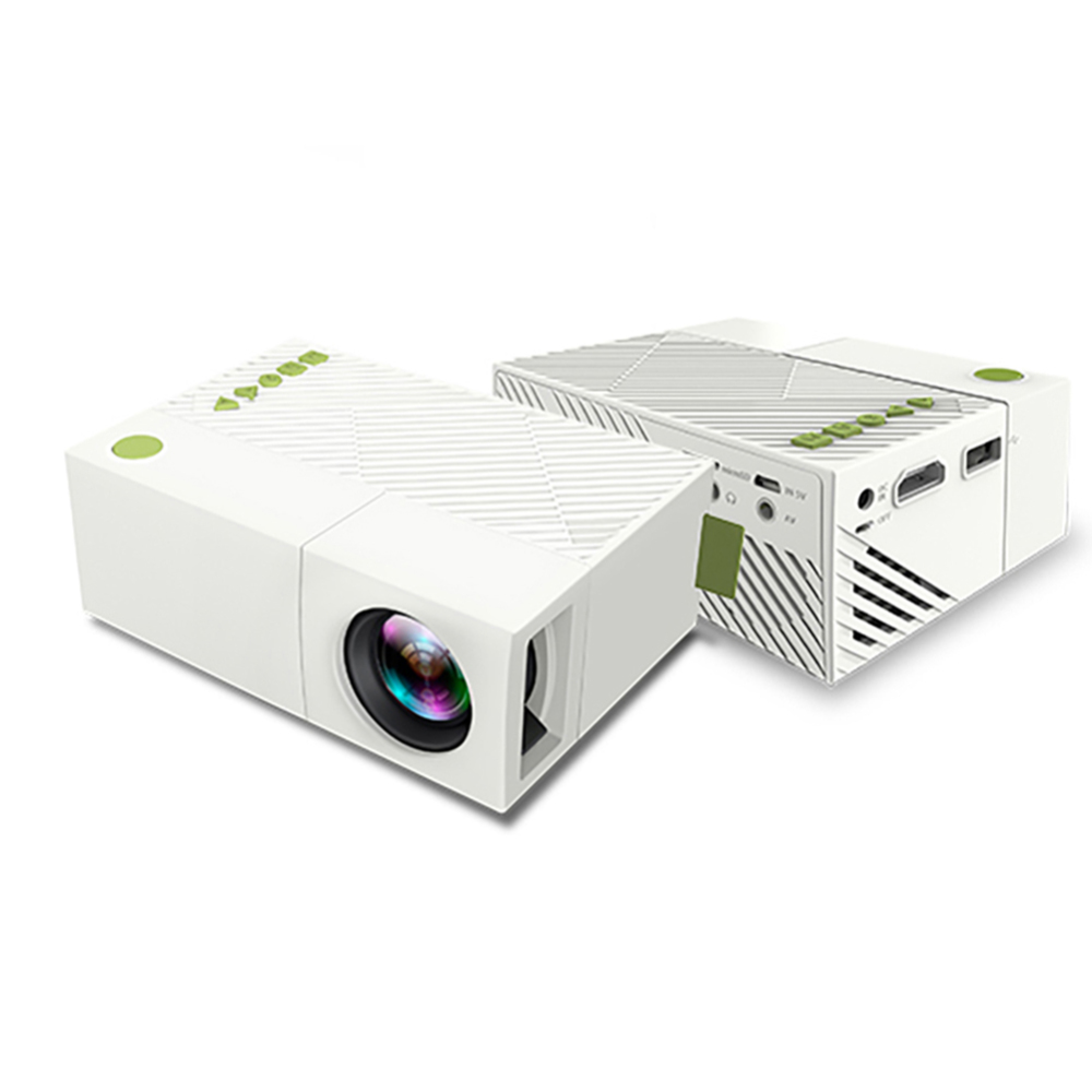 YG310 Mini portable LED Mini home theater projector game Beamer video player SD HDMI USB speaker YG-300 Child beamer