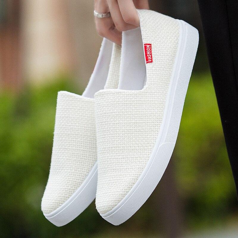 2019 New Men Shoes Casual Deodorant Lightweight Canvas Shoes Men Sneakers  Zapatos De Hombre  Mens Shoes Casual Sneaker