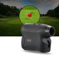 / 600P 6X25mm Laser Range Finder Hunting Golf Rangefinder Distance Speed Fog Mode Measurement for Outdoor Hunting Horse Racing