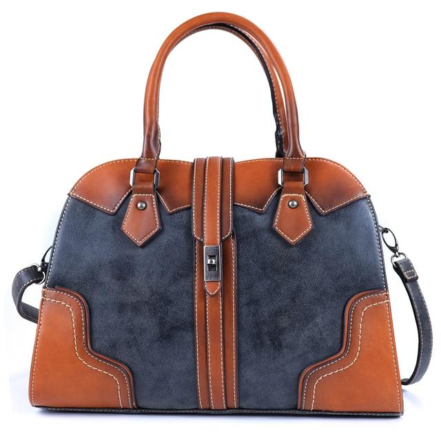 2019 New Luxury Vintage Women Handbags Designer Brand Crossbody Bags Leather Women Shoulder Bag Laides Hand Bag Purse Tote