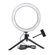 STARSHINE Ring Light Live fill light lamp Moving ringlight Desktop makeup lamp led light hoop tripod Selfie phone stand Dimmable(China)