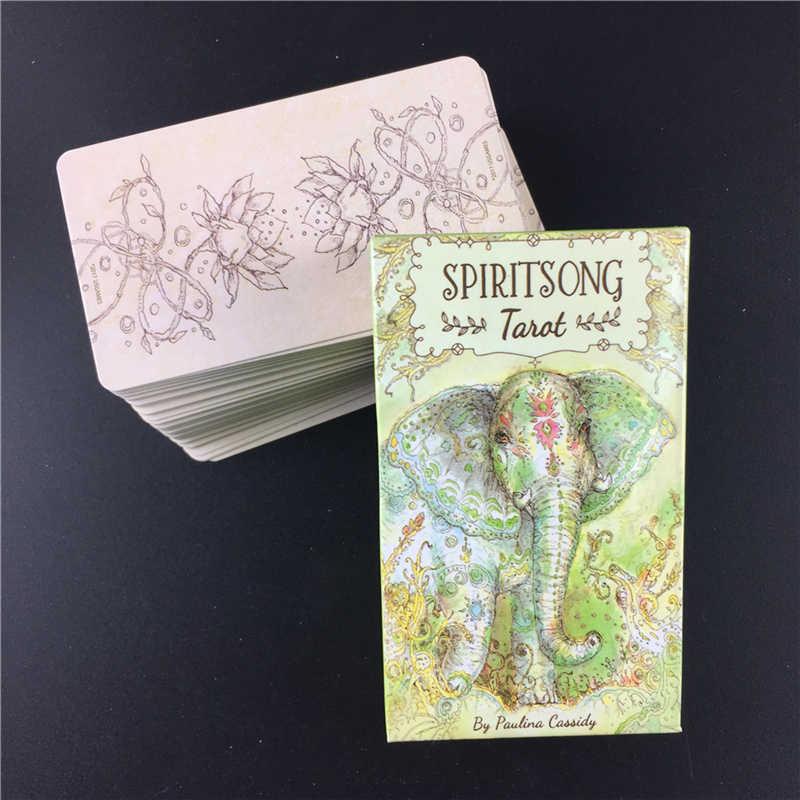 Misterioso spiritsong tarô baralho cartas jogo de tabuleiro festa família entretenimento com caixa