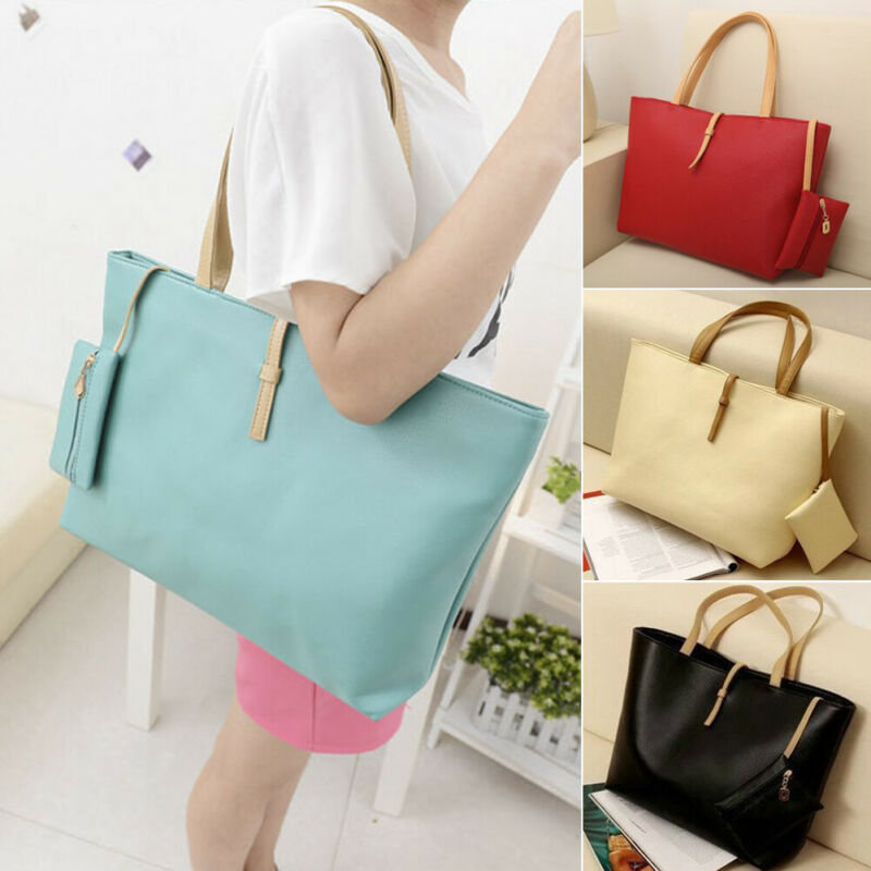 Women Handbag Leather Satchel Shoulder Bag Tote Ladies Messenger Crossbody Purse 2019 New Fashion Streetwear Handbags